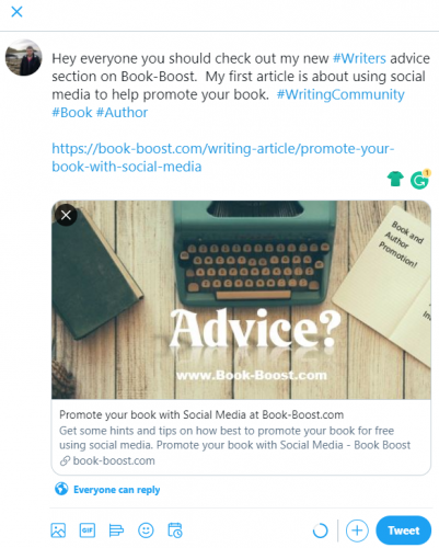 Promote your book with Social Media
